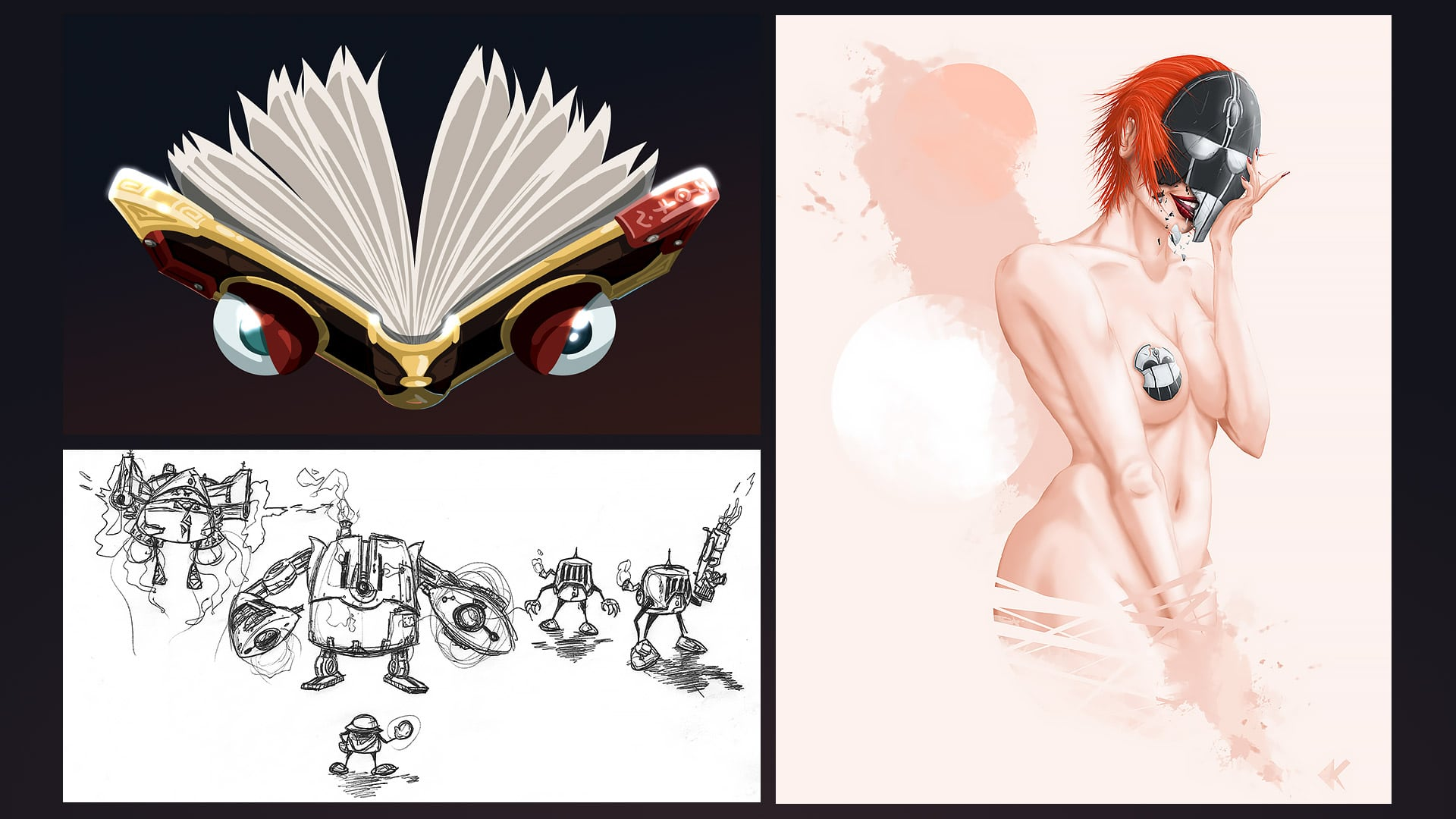 Digital Painting and Illustration - Selection