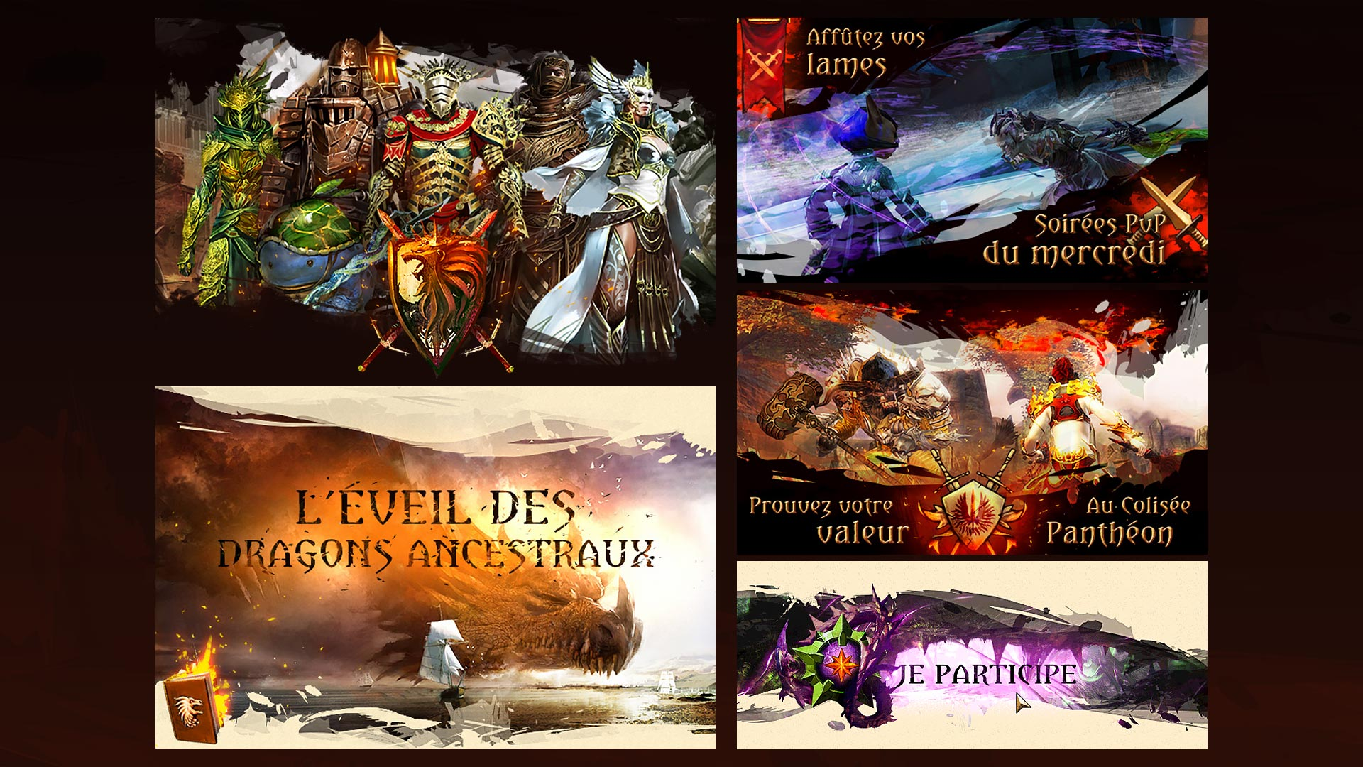 Guild Wars 2 Community and Partnership - Banners