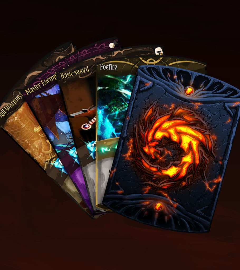 Guild Wars 2 Community and Partnership - Unofficial collectible card back