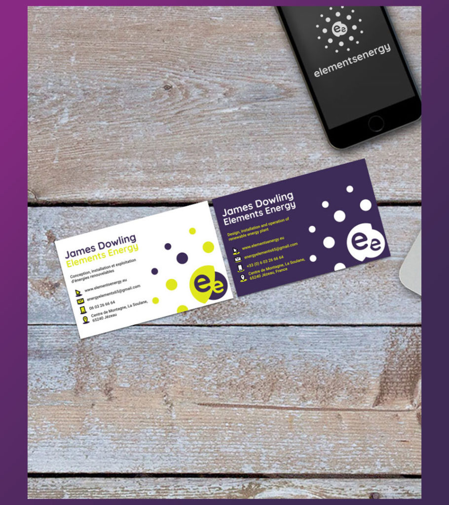 Elements Energy - Business card